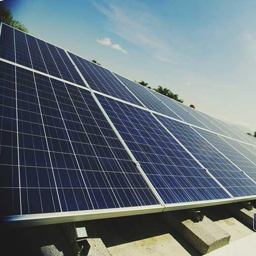 bentonita para paneles solares